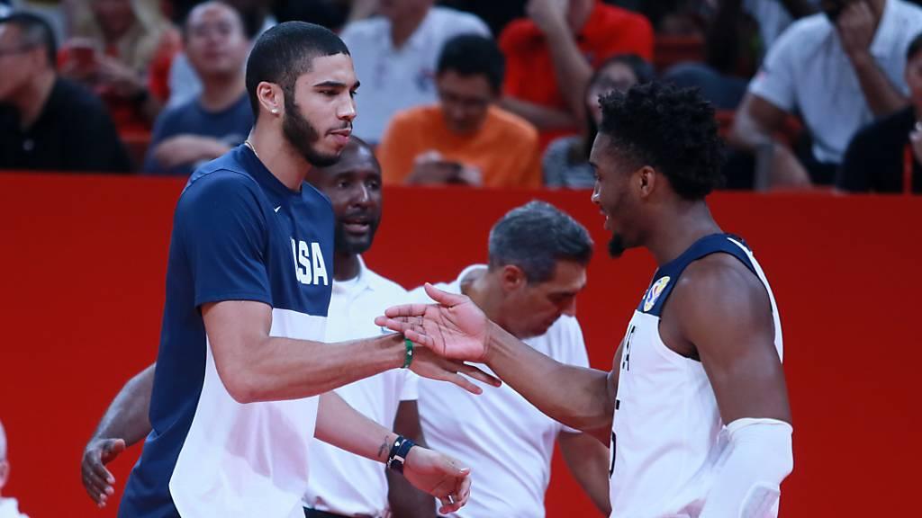 USA und WM-Debütant Tschechien in den Viertelfinals