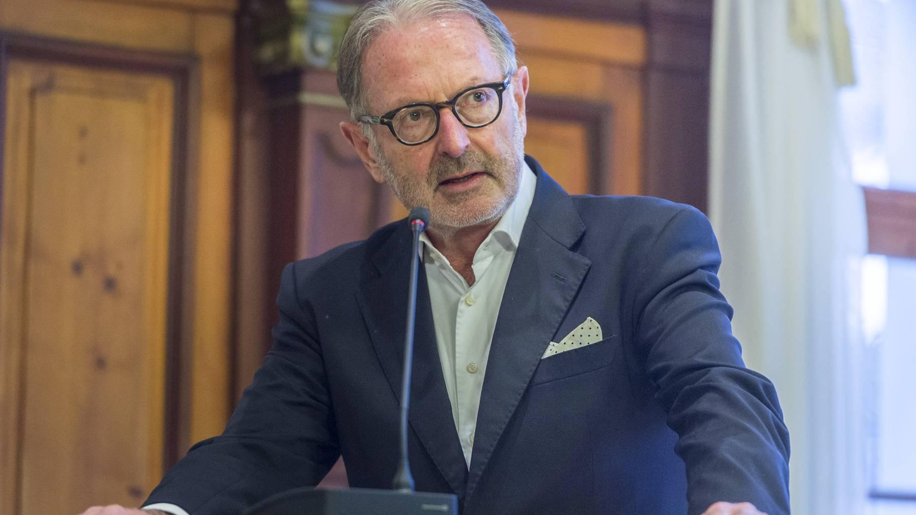 Hermann Hess wurde 2015 in den Nationalrat gewählt. (Archiv)