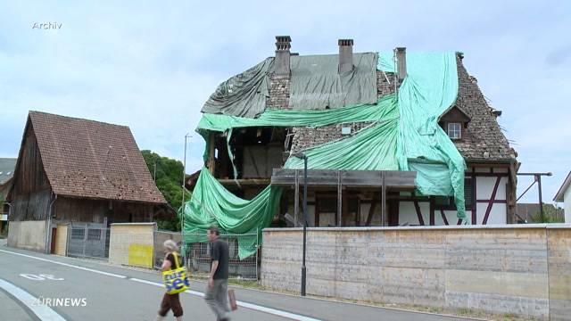 Abbruch Fröschengrueb in Regensdorf