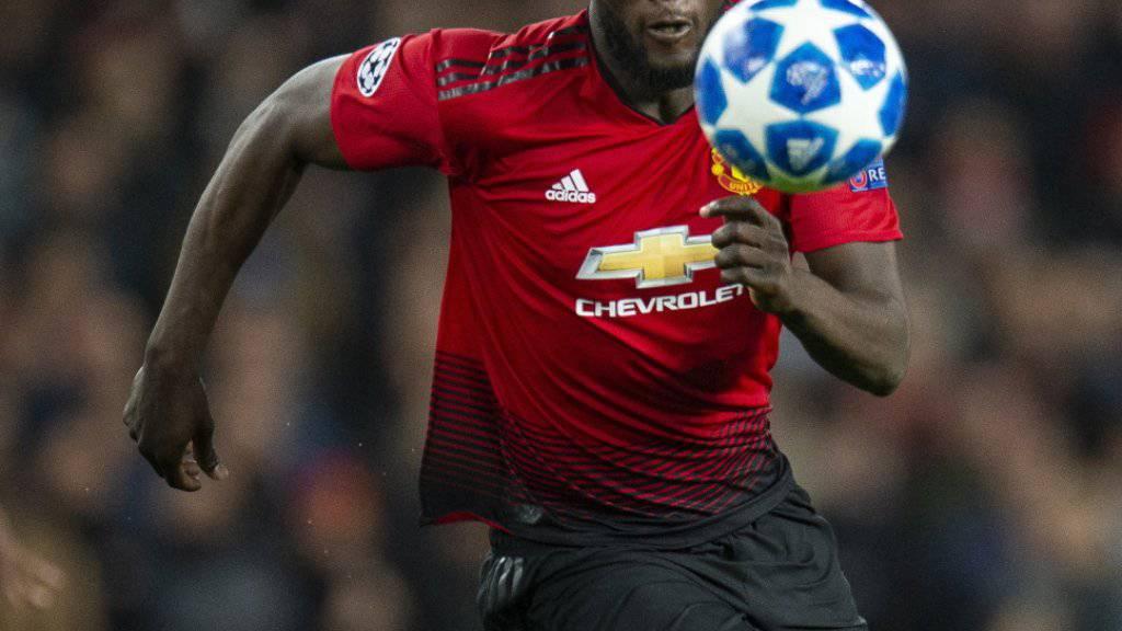 Ein Bild der Vergangenheit: Romelu Lukaku im Dress von Manchester United