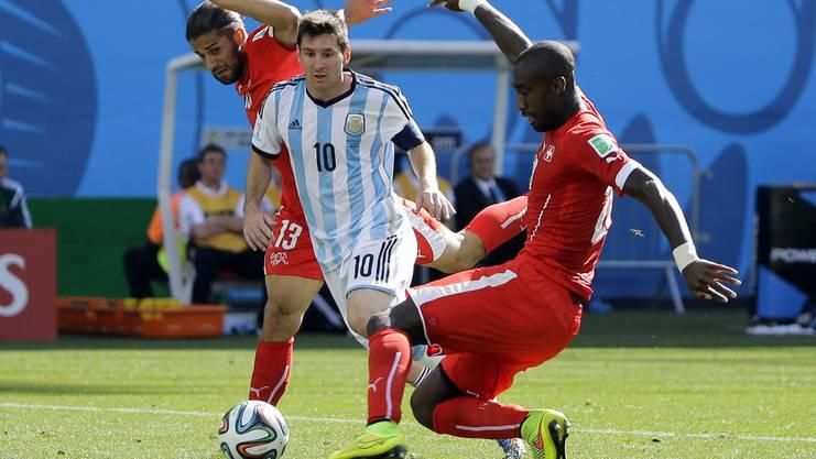 Bereits fünf grosse Turniere hat Djourou mit der Schweiz bestritten.