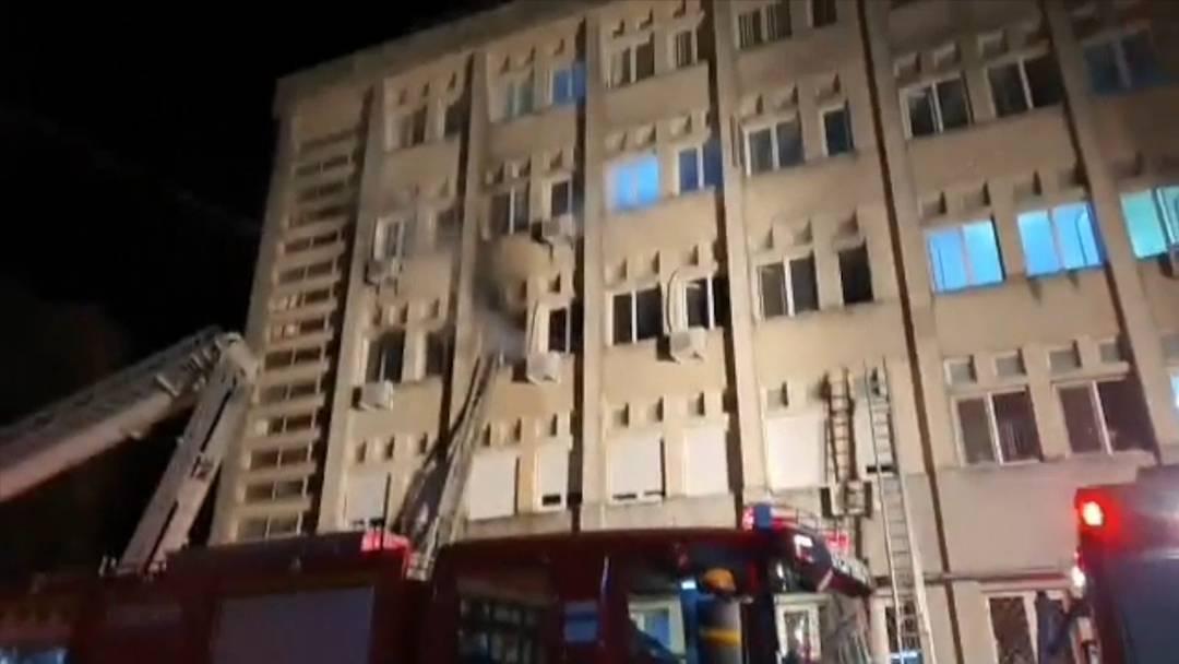 Brand auf Intensivstation: Feuer bricht in Rumänien aus - zehn Menschen tot