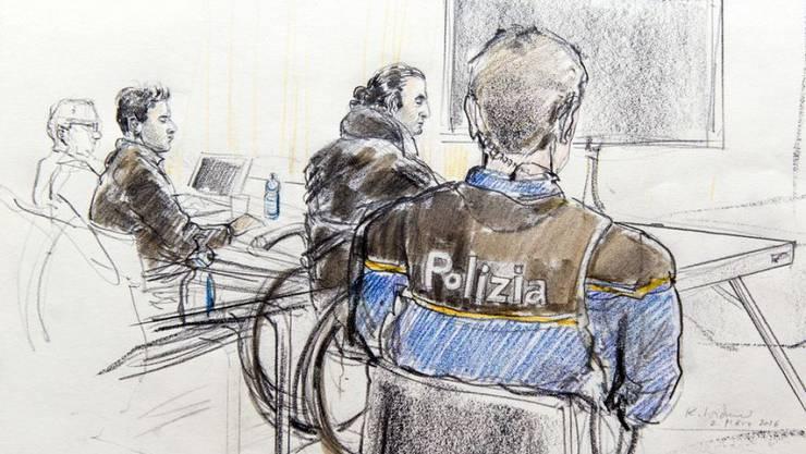 Drei irakische Männer wurden im März 2016 vom Bundesstrafgericht in Bellinzona wegen Unterstützung einer Terrororganisation zu Freiheitsstrafen verurteilt. Doch nur wenige Monate später mussten sie wieder freigelassen werden.