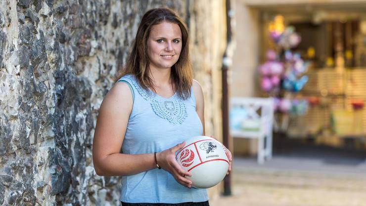 Livia Galli aus Deitingen nimmt erstmals mit der Schweizer Nationalmannschaft an der Europameisterschaft teil.