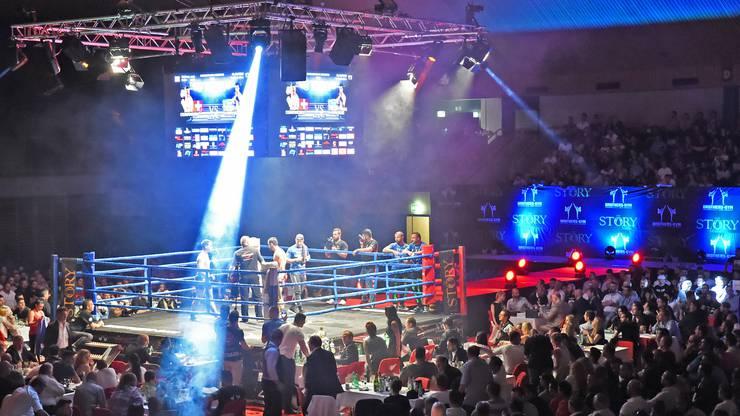 The Story 4: Fight Night in der Oltner Stadthalle