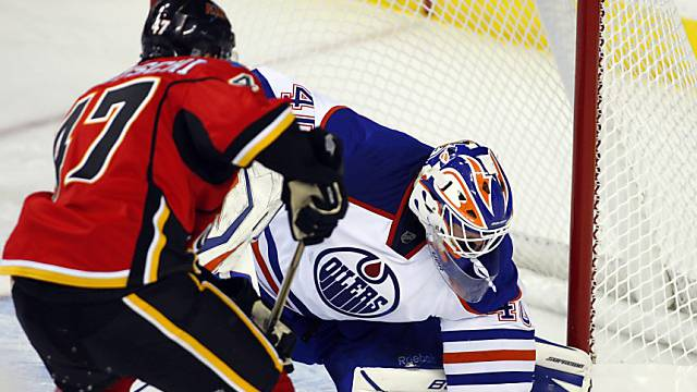 Sven Bärtschi wurde von den Calgary Flames in die NHL berufen