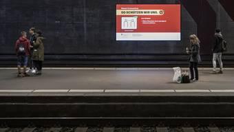Kaum mehr Gedränge: Bahnhof Bern.