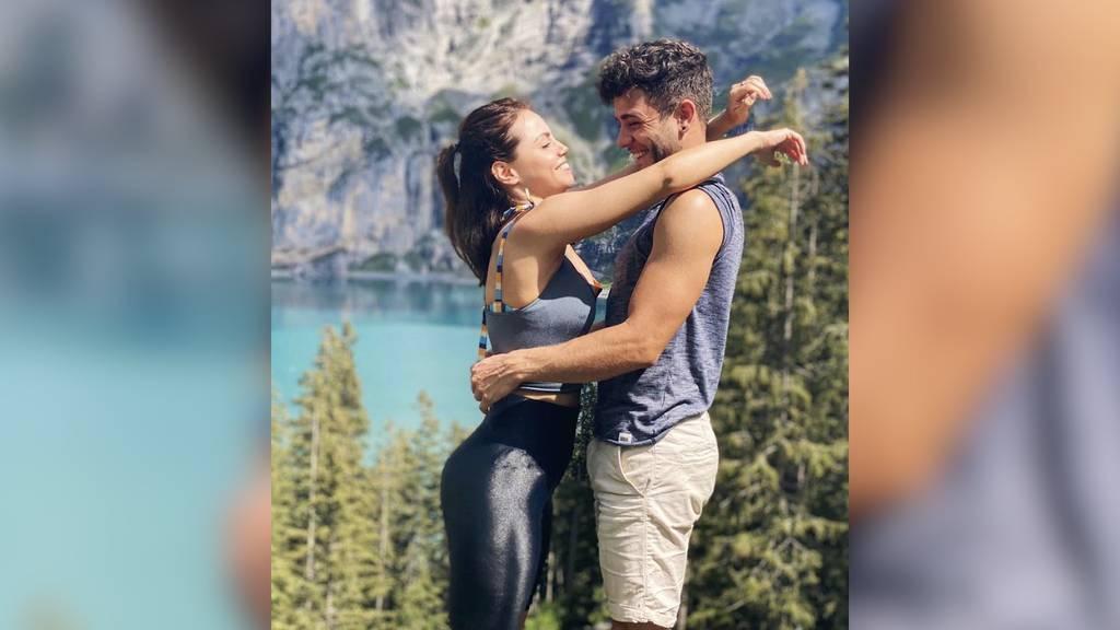 Verliebt in der Schweiz: Luca Hänni und Christina Luft freuen sich auf den 1. August