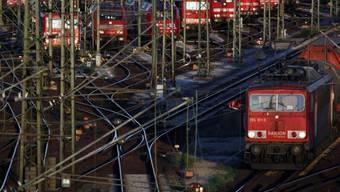 Rangierbahnhof im Süden von Hamburg (Archiv)