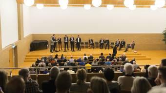 Zahlreiche Zuschauer fanden sich anlässlich der Austragung der Dietiker Podiumsveranstaltung ein.