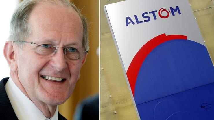 Will den Standort Region Baden verteidigen: Alstom Schweiz Verwaltungsratspräsident Joseph Deiss.