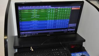 Acht Laptops für illegale Wetten wurden insgesamt sicher gestellt. (Symbolbild)