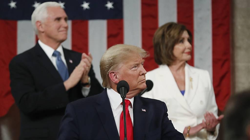 Demokraten wollen neues Trump-Impeachment am Montag starten