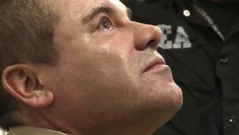 """Ein Richter in den USA hat dem mexikanischen Drogenboss """"El Chapo"""" sämtliche Erleichterungen für seine Haft verwehrt. (Archivbild)"""