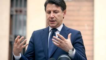 Italiens Ministerpräsident Giuseppe Conte macht seinen Landsleuten Hoffnung. (Archivbild)