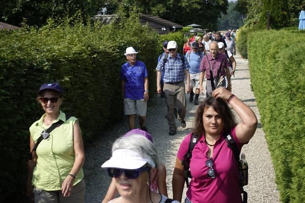 Leserwandern 2018 Grenchen Grenchner Witi