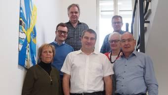 Pascal Kläusler (vorne Mitte) wurde neu in den Mettauertaler Gemeinderat gewählt.