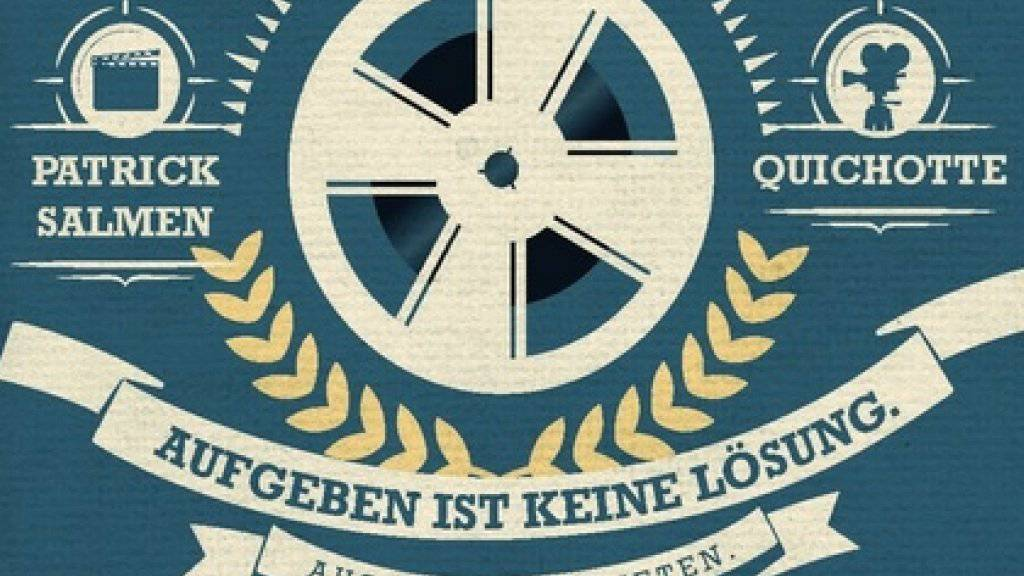 Auf der Leipziger Buchmesse wurde der ungewöhnlichste Buchtitel gekürt: «Aufgeben ist keine Lösung. ausser bei Paketen» (Buchcover, Ausschnitt).