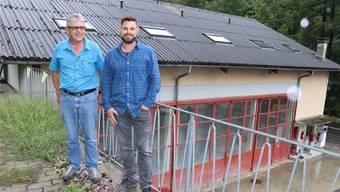 Urs Loosli (links) gab die Geschäftsführung am 1. Juli an Sohn Marco Loosli ab.