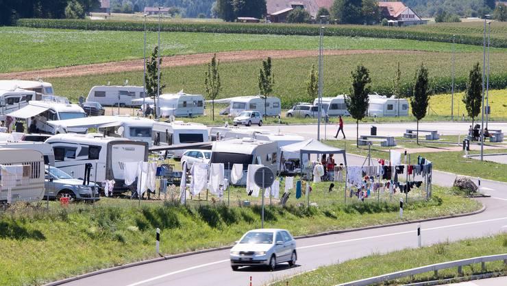 In Wileroltigen stören sich viele an Wohnwagenbewohnern.