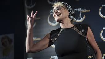 «Sexy sein kann man ein Leben lang»: US-Star Sharon Stone (62). Foto: Keystone.
