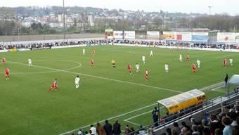 Beschränkte Platzverhältnisse – vor allem bei Cupspiele wie gegen das grosse FC Basel. (Archivbild)