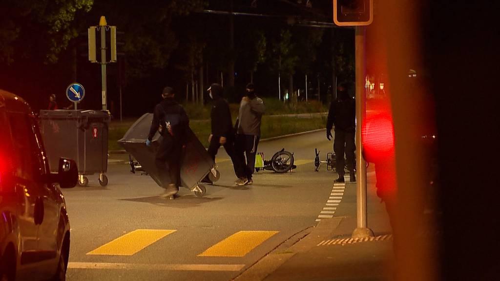 Zürich-Altstetten: Illegale Party führt zu Grosseinsatz der Polizei