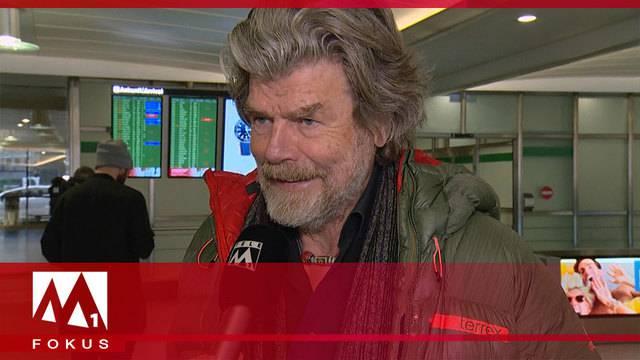 Extrembergsteiger Reinhold Messner