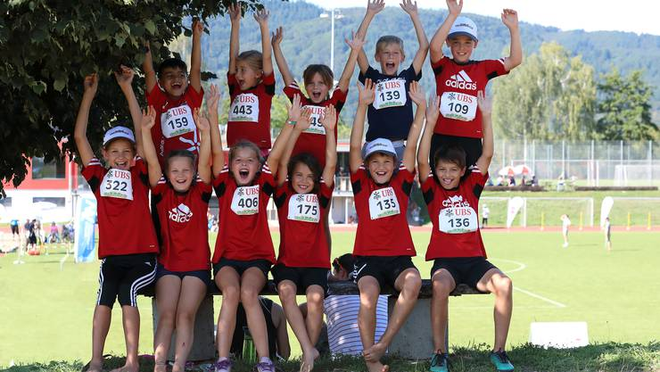 Teilnehmer UBS-Kids-Cup