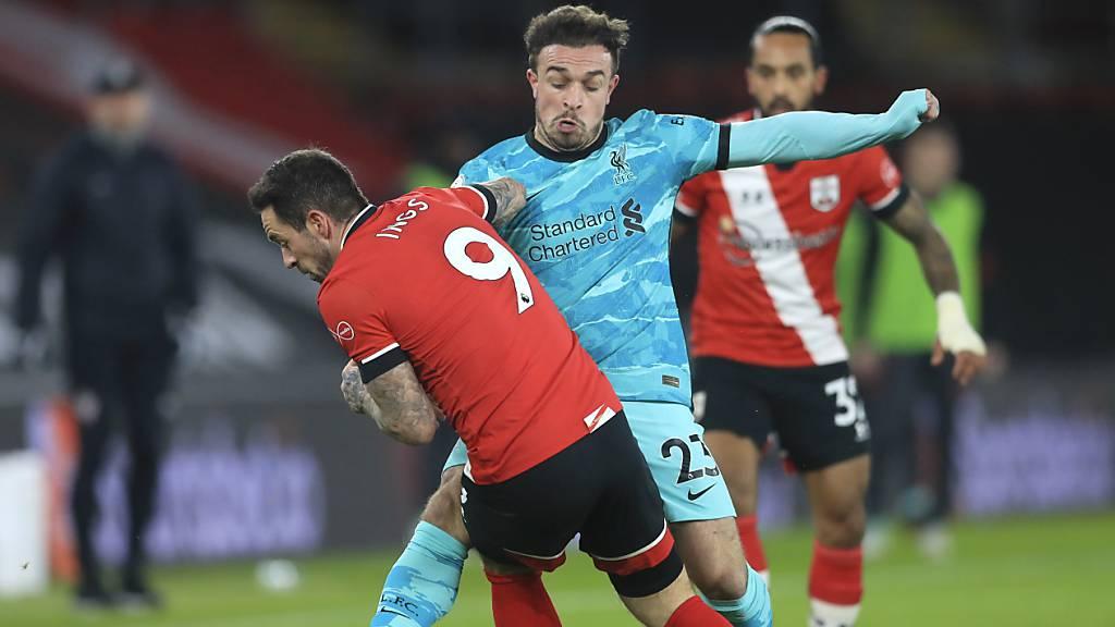 Liverpool patzt erneut, Shaqiri mit Teileinsatz