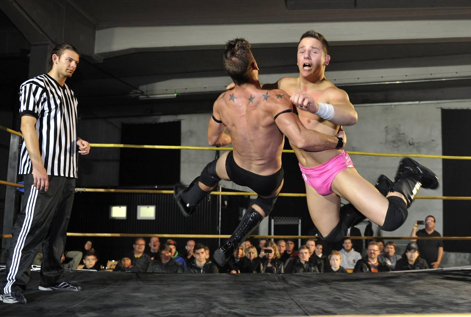 Nach dem Anlass im Jahr 2012 zog sich Wrestling zurück aus Wil. (Archivbild: St.Galler Tagblatt/Ralph Ribi)