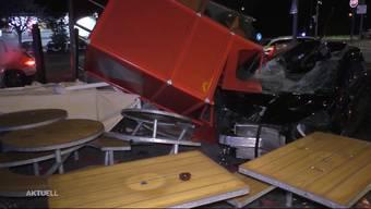 So berichtet TeleM1 über den heftigen Unfall.