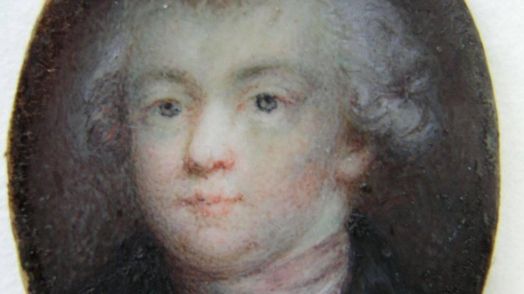Wolfgang Amadeus Mozart in einer Aufnahme der Stiftung Mozarteum Salzburg.
