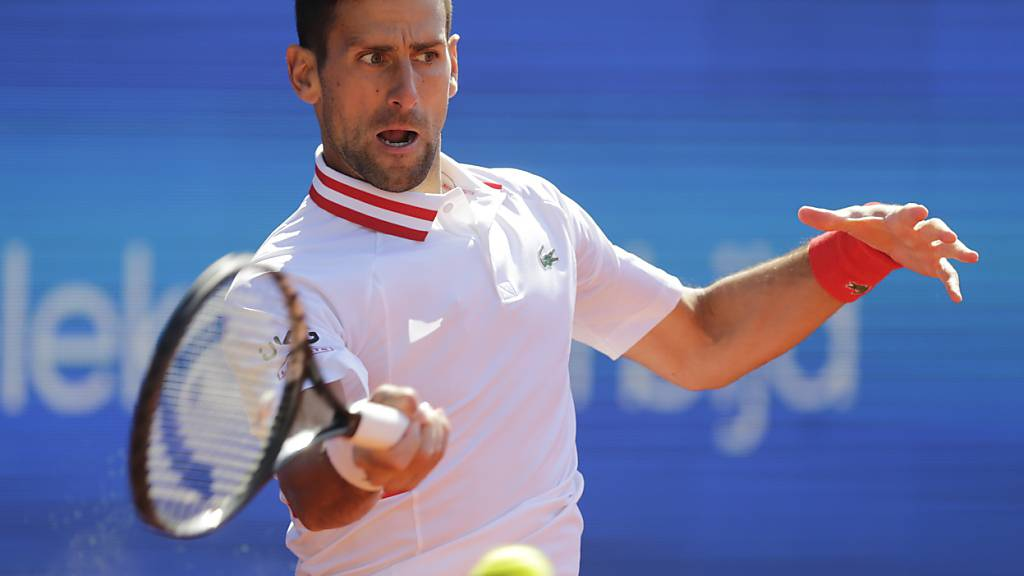 Novak Djokovic tritt in Belgrad bislang souverän auf