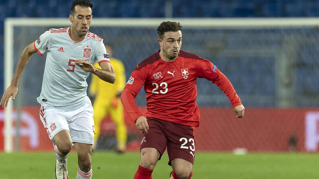Wie gut ist er in Form? Trotz Fragezeichen steht Xherdan Shaqiri gegen Bulgarien in der Schweizer Startformation