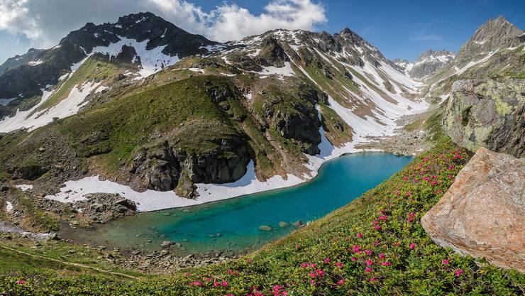 2017 lag am Nidersee (2091 Meter über Meer) im Urner Leutschachtal auch Mitte Juli noch Schnee. Im Sommer 2020 könnte dies anders aussehen.