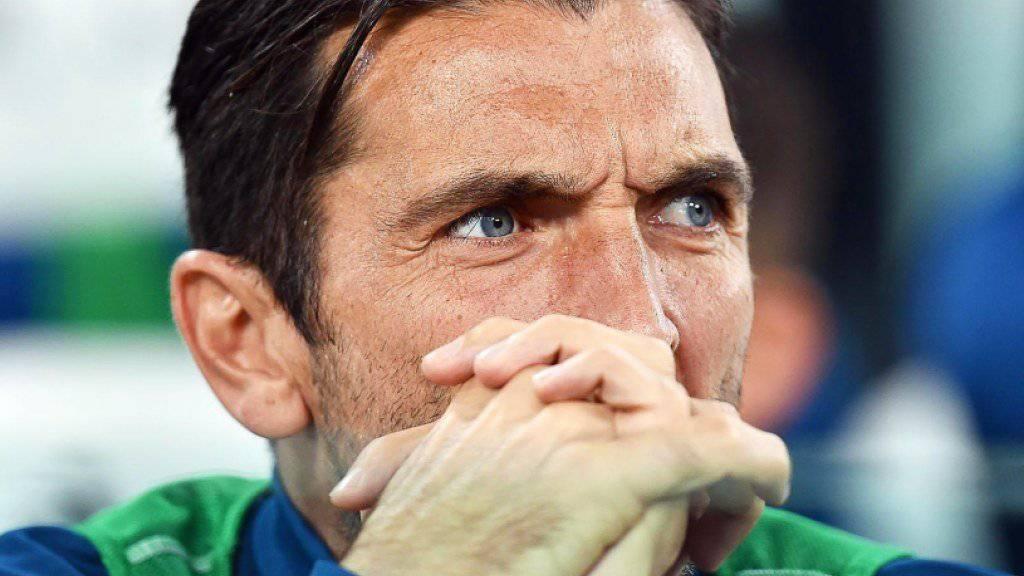 Unrühmliches Karriereende im Nationalteam? Gianluigi Buffon verpasst mit Italien die Weltmeisterschaft in Russland