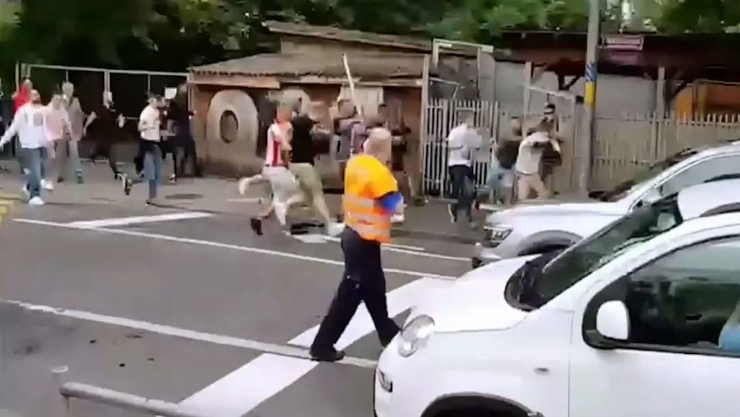 Bern: Fünf Verletzte bei Belgrad-Fanmarsch