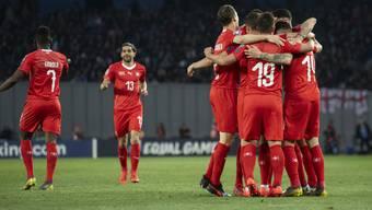 Georgien - Schweiz (23.03.2019)