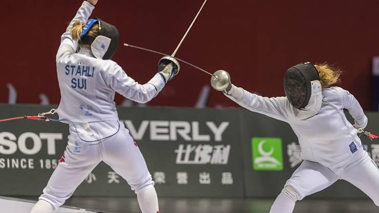 Laura Stähli scheiterte bei der WM in Budapest schon in der 1. Runde