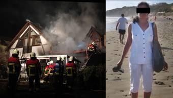 Brandstiftung in Rohr – Brandstifterin war betrunken