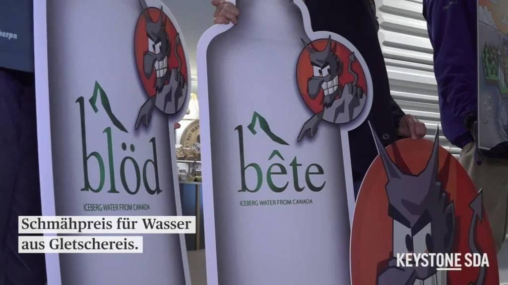 Alpen-Initiative-Schmähpreis für Grönlandwasser an Manor verliehen
