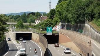 Der Kanton gibt die H 18/A 18 (hier Schänzlitunnel) dem Bund ab – gratis.