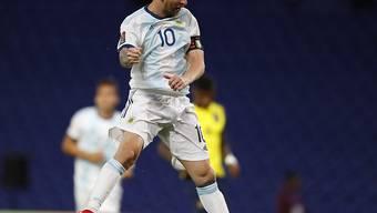 Versenkt! Lionel Messi jubelt nach dem verwandelten Elfmeter.