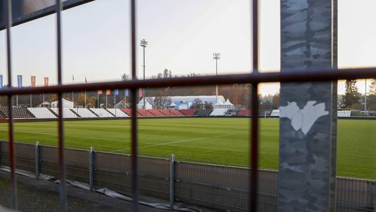 Das Brügglifeld - dank einer Ausnahmebewilligung Heimat des FC Aarau. Wie lange noch?
