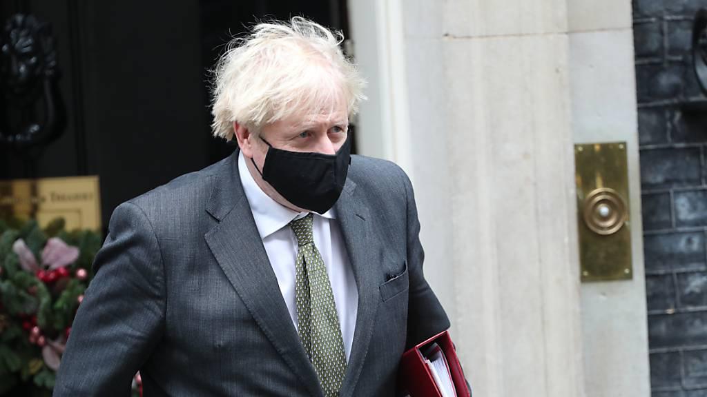 Der Premierminister von Großbritannien, Boris Johnson, blickt angesichts des Brexits optimistisch in die Zukunft. Foto: Yui Mok/PA Wire/dpa