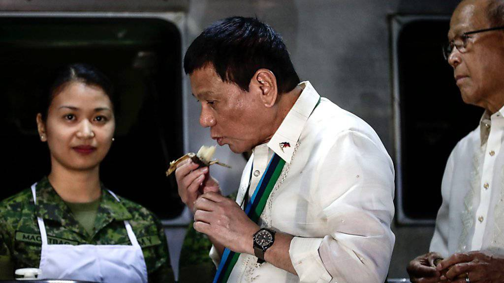 Präsident Rodrigo Duterte lässt auf den Philippinen gratis Verhütungsmittel verteilen. (Archivbild)