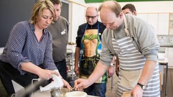 Männer-Crashkurs in Hauswirtschaft im Bildungszentrum Wallierhof