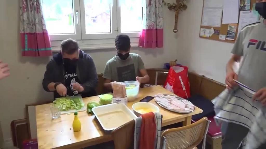 WG mal anders: Der Pfarrer und die Flüchtlinge