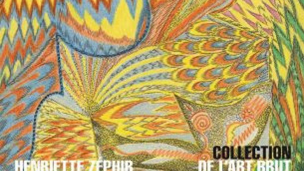 Ausschnitt aus dem Plakat der Collection de l'Art Brut für die Ausstellung von Henriette Zéphir (1920-2012). (Handout)